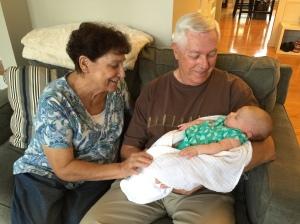 Great-grandma & great-grandpa are in love.
